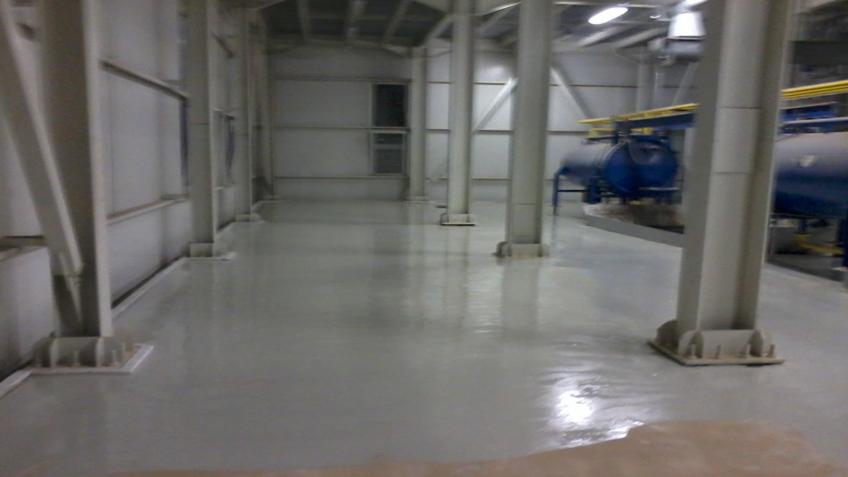 Bọc phủ nền bê tông nhà xưởng