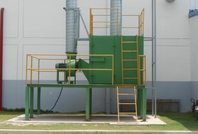 Bồn xử lý khí thải